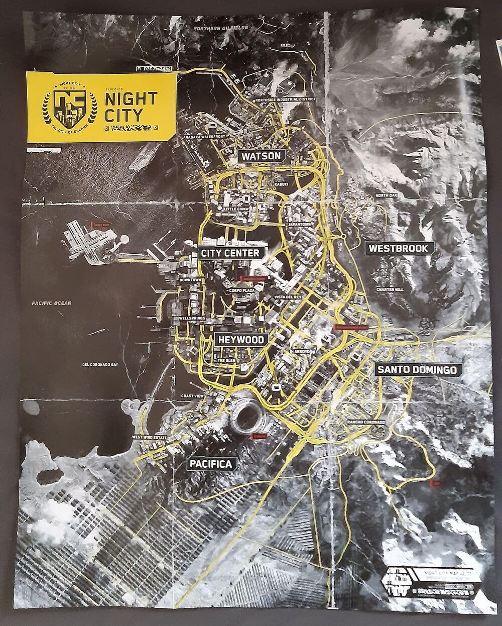 Cyberpunk-2077-Map-Leak - MyCyberpunk.de | Deine ...